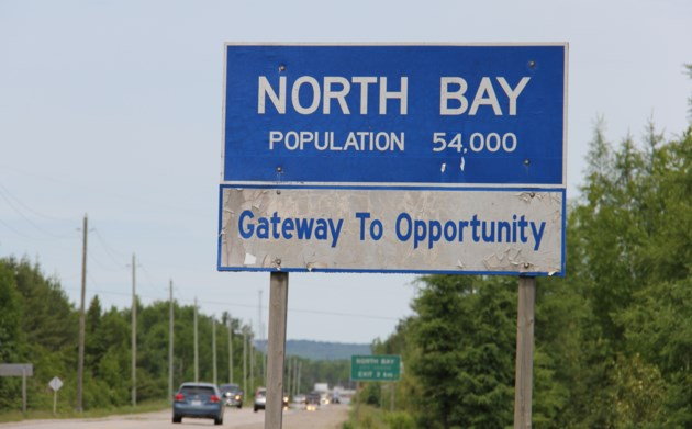 north bay gateway to opportunity population sign turl 2016