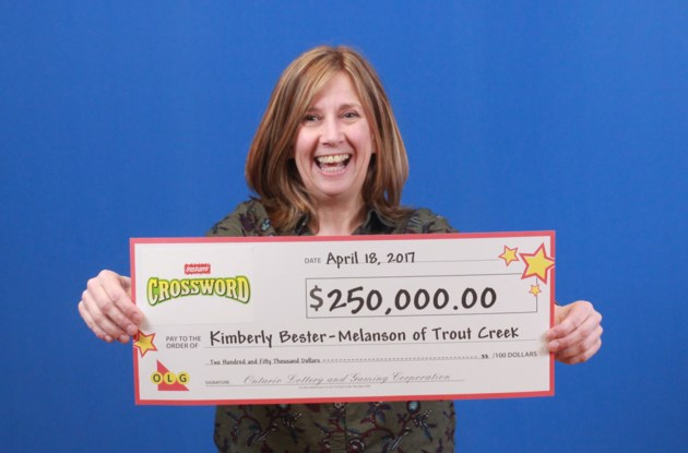 Kimberly Bester-Melanson Crossword Deluxe $250,000.00 of Trout Creek