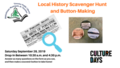 Local History Scavenger Hunt and Button-Making