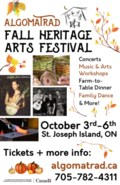 Fall Heritage fest poster 2019