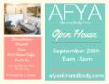 Open House Sept 2019