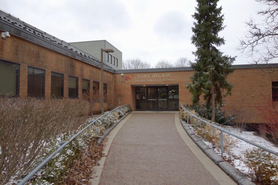 York District District School Board. Debora Kelly/NewmarketToday