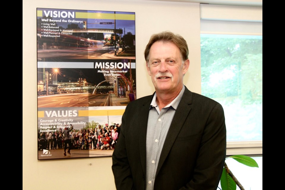 Bob Shelton's 41-year career with the Town of Newmarket is being honoured with the renaming of the Newmarket Operations Centre.  File photo/NewmarketToday