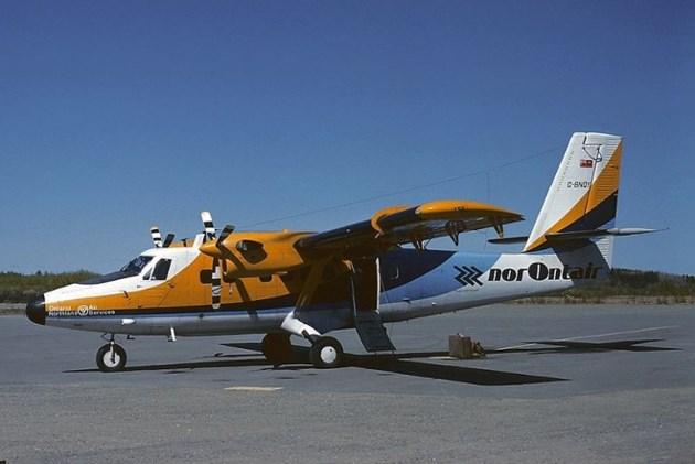 NorOntair De Havilland Twin Otter at Kirkland Lake Airport, 1985 (Alain Rioux)
