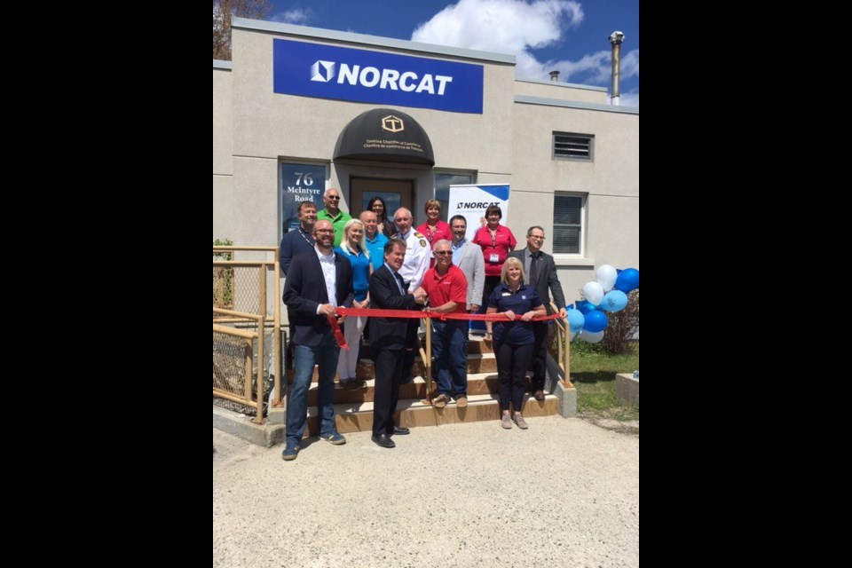 NORCAT in Timmins celebrated its relocation to a new on June 5, during the 2019 Canadian Mining Expo. (Twitter photo)