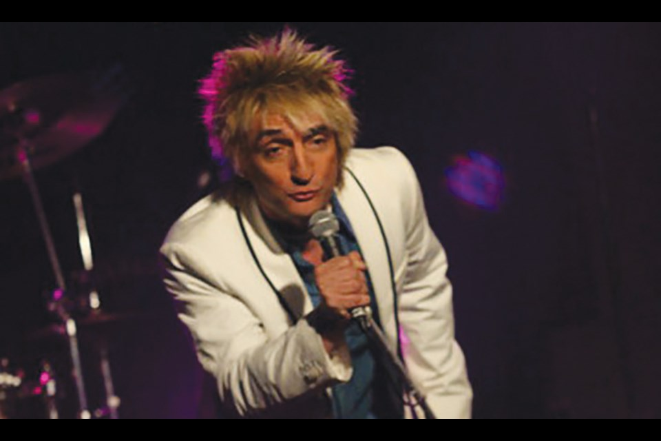 Vic Vaga, famous Las Vegas celebrity impersonator, brings his VagaBlonde Rod Stewart Tribute show to the Banff Legion on Saturday (Sept. 7). SUBMITTED PHOTO