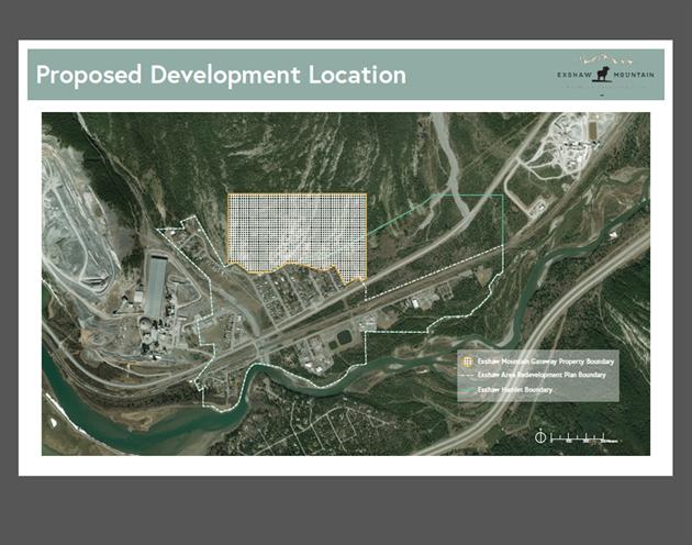 Exshaw development