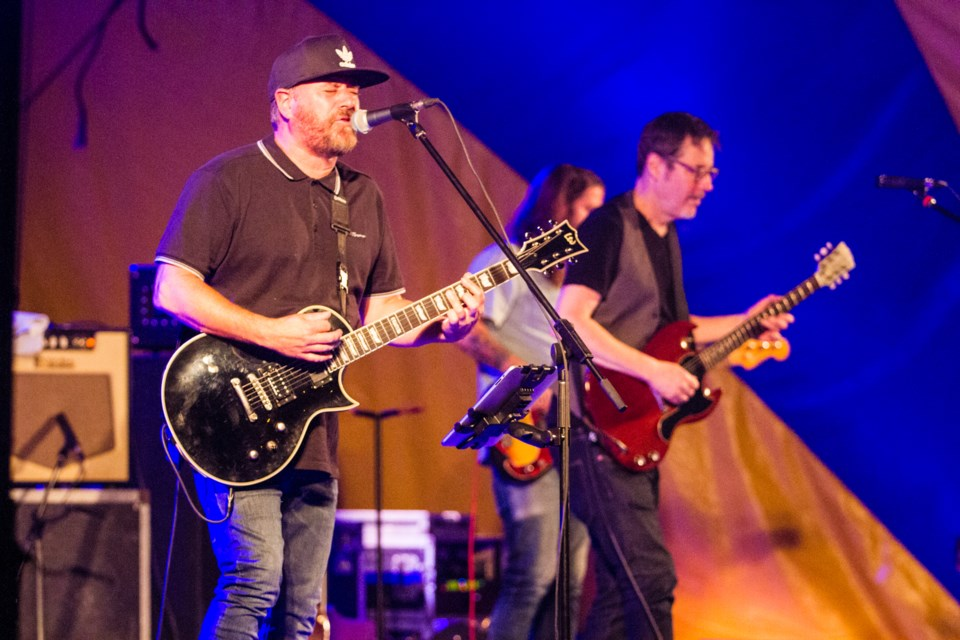 Treble Charger headlined Rotaryfest's Stage 1 Friday, July 20, 2018. Donna Hopper/SooToday
