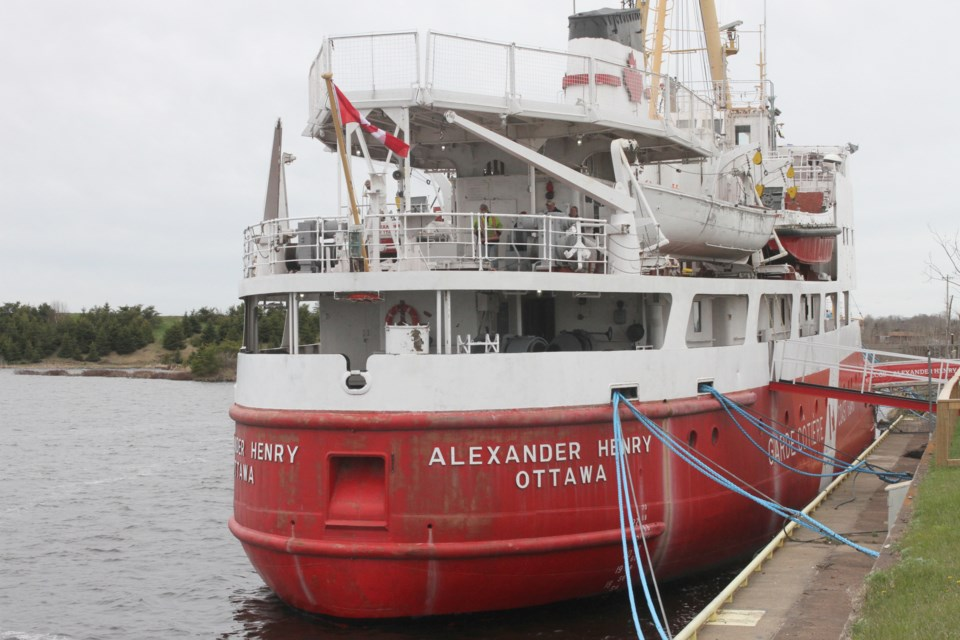 The Alexander Henry opened for public tours on May 18, 2019. (Michael Charlebois, tbnewswatch.com)